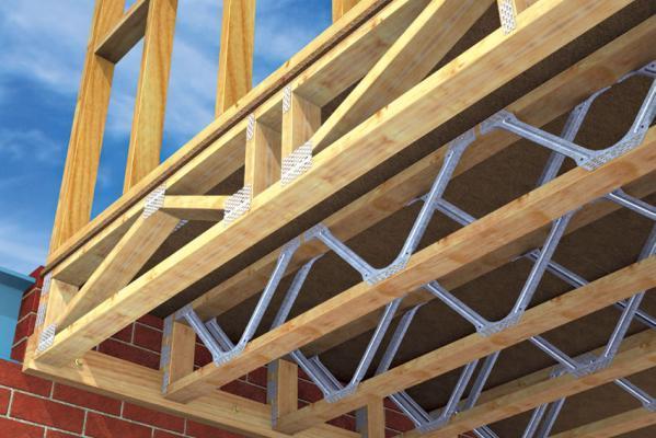 Pryda floor rafter trusses by pryda australia for Web floor truss