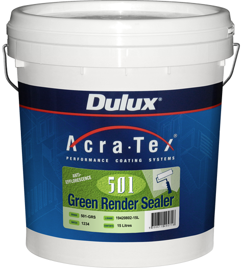 Dulux Acratex 501 10 Green Render Sealer By Dulux Acratex