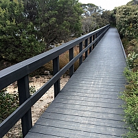 Wood Plastic Composite Boardwalks by ADVANCED PLASTIC RECYCLING, SA 5084